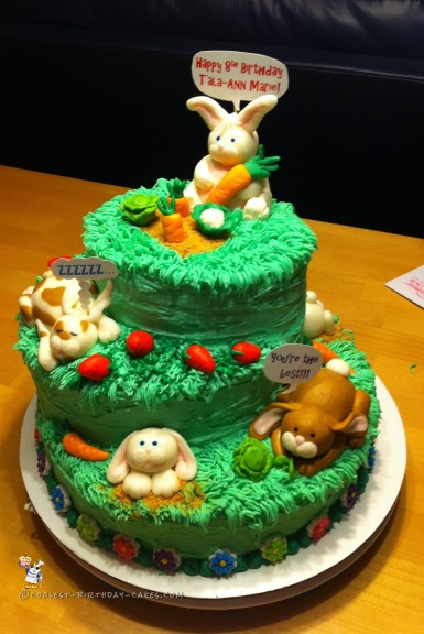 Tremendous 61 Adorable Easter Bunny Cakes For The Diy Cake Enthusiast Personalised Birthday Cards Paralily Jamesorg