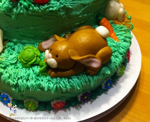 Coolest Bunny Birthday Cake