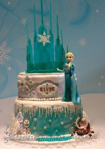 Coolest Frozen Inspired Birthday Cake
