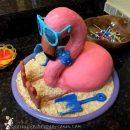 Floyd the Flamingo Birthday Cake