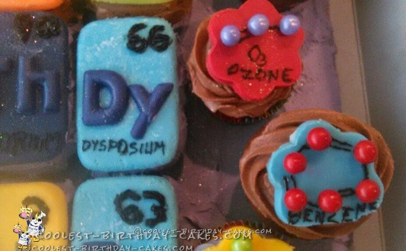 Coolest Chemistry Cake for PERIODIC Cake Eaters