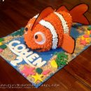 3D Finding Nemo Birthday Cake Makes A Splash