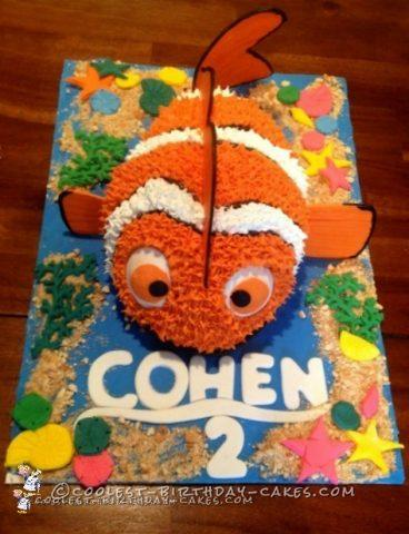 3D Finding Nemo Birthday Cake Makes A Splash