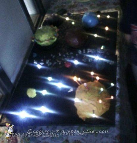 Coolest Solar System Cake