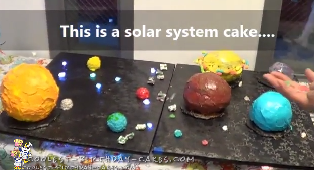 Coolest Solar System Cake