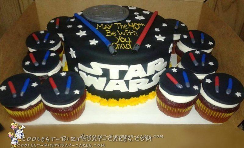 40th Birthday Star Wars Cake