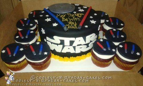 40th Birthday Star Wars Cake