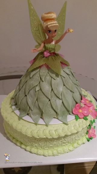 Magical Tinkerbell Doll Cake