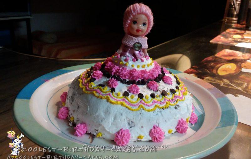 Baby Doll Cake for My Bestie