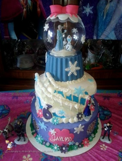 Super Coolest Disney Frozen Birthday Cakes Funny Birthday Cards Online Overcheapnameinfo