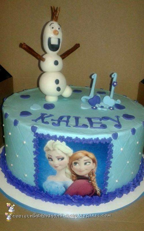 11th Birthday Frozen Cake