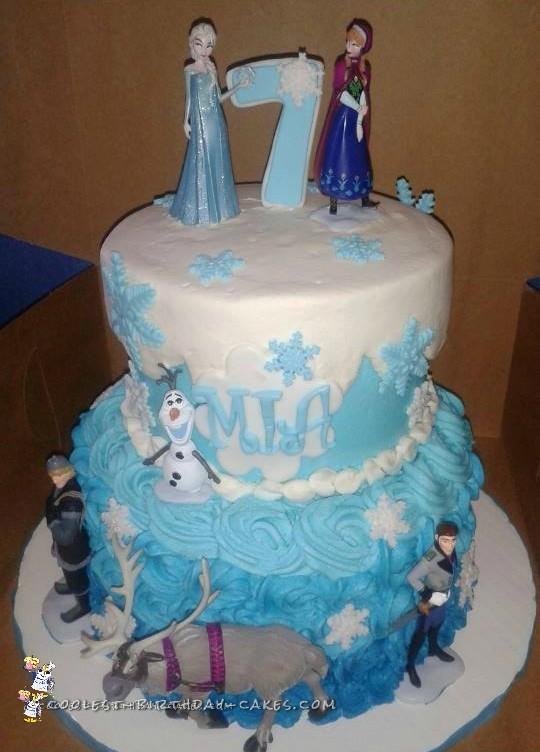 Coolest Disney Frozen Birthday Cakes