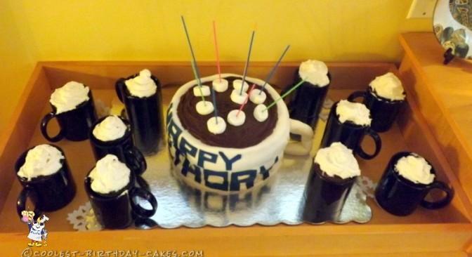 Coolest Hot Chocolate Mug Cake