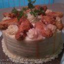 Cornbread Mashed Potato Chicken Cake