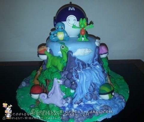 Miraculous Coolest Pokemon Birthday Cake Personalised Birthday Cards Bromeletsinfo