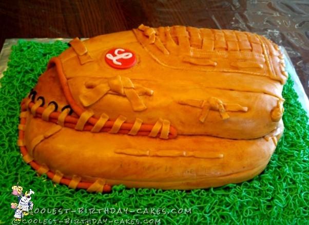 baseball cap cake instructions