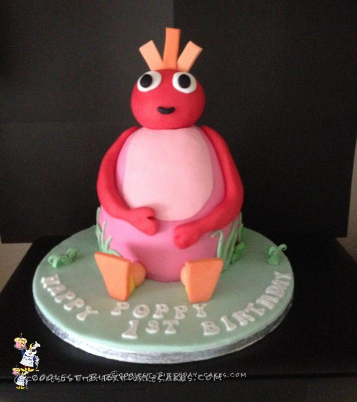 Coolest Twirlywoos Cake