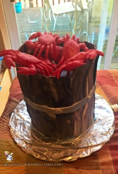 Coolest Crab Birthday Cake