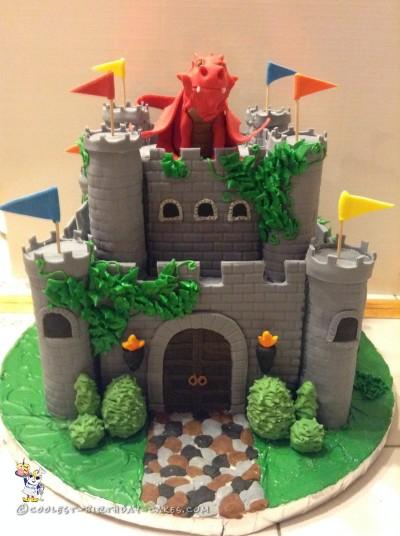 Coolest Medieval Fantasy Castle Cake