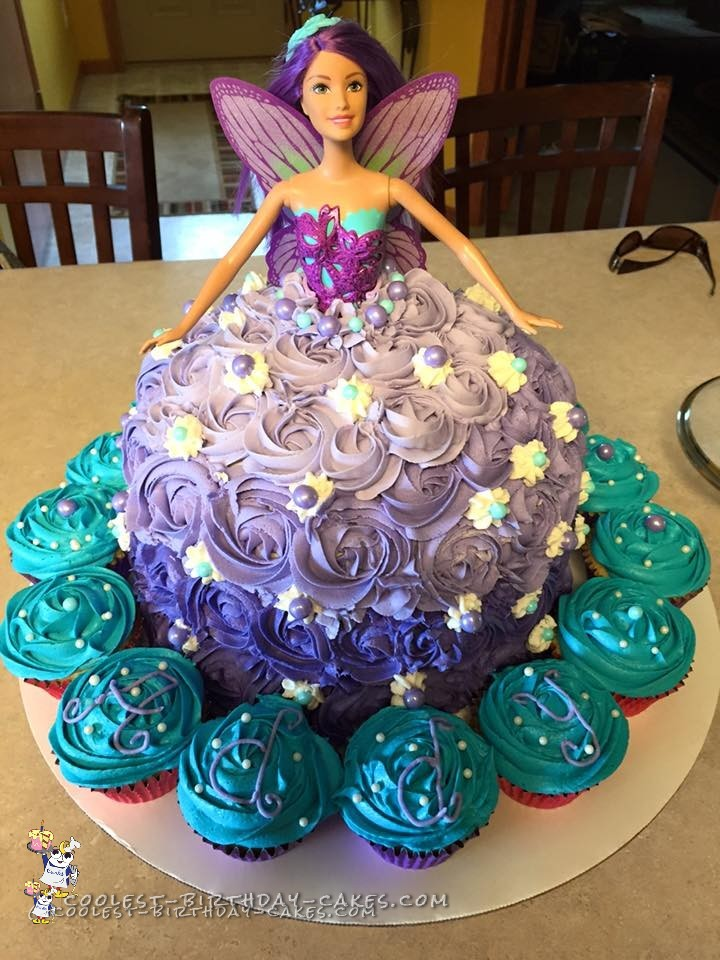 I Made This Fairytale Barbie Doll Cake For My Nieces 5th Birthday Just Had To Be The Theme Year