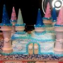 Frozen Themed Castle Cake