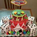 My Fabulous Las Vegas Birthday Cake