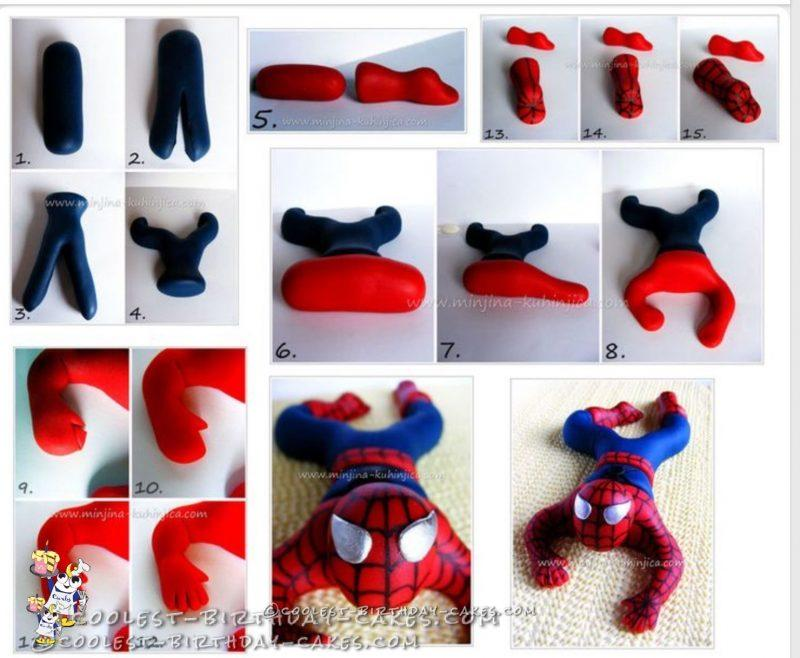 Amazing Spider-Man Birthday Cake
