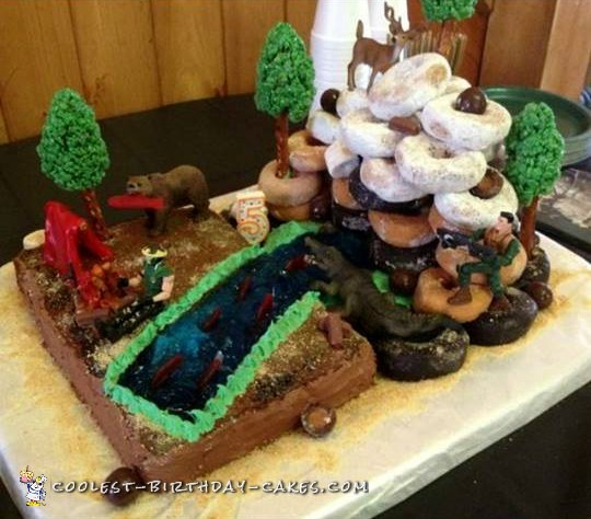Outstanding Coolest Homemade Hunting Cakes Funny Birthday Cards Online Barepcheapnameinfo
