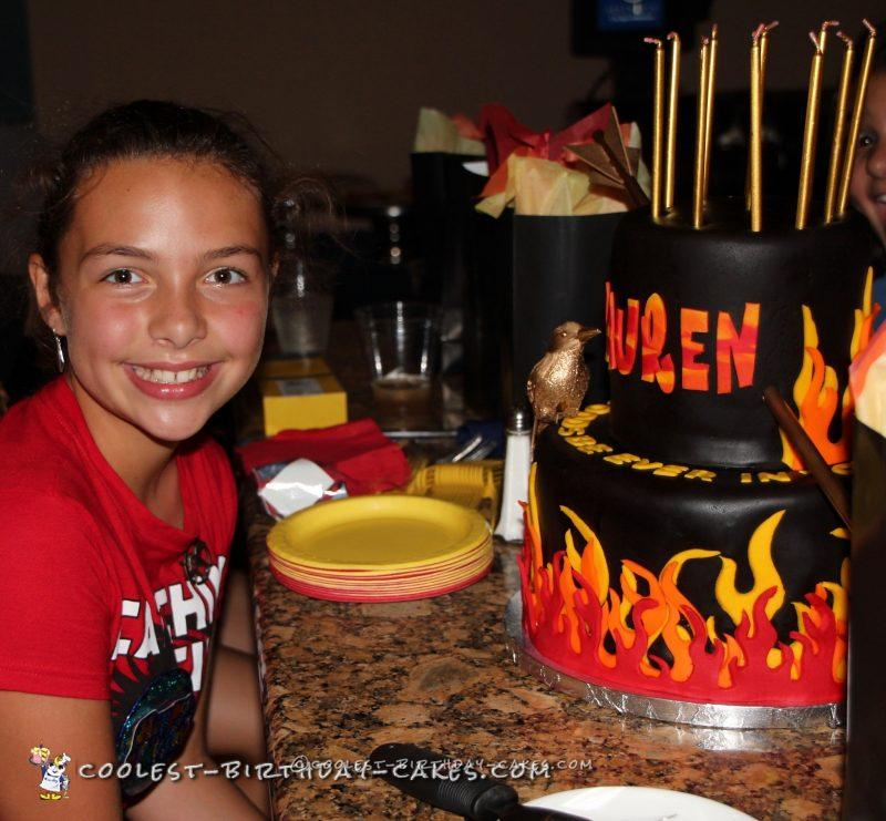 Catching Fire Mockingjay Hunger Games Cake