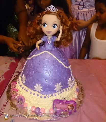 Sweetest Princess Sophia Birthday Cake