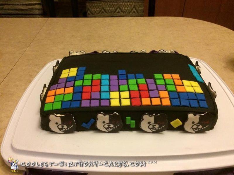 Awesome Danganronpa Gamer Cake
