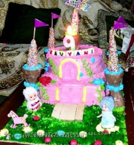 9th Birthday Castle Cake