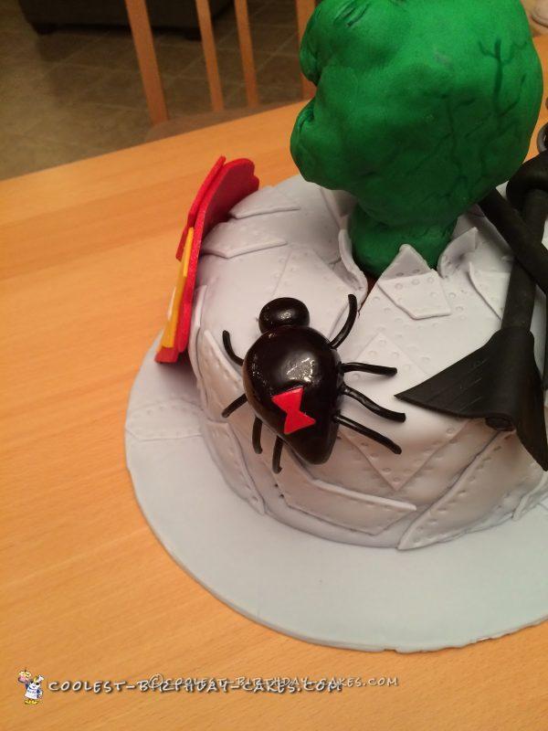 Coolest Ever Avengers Birthday Cake