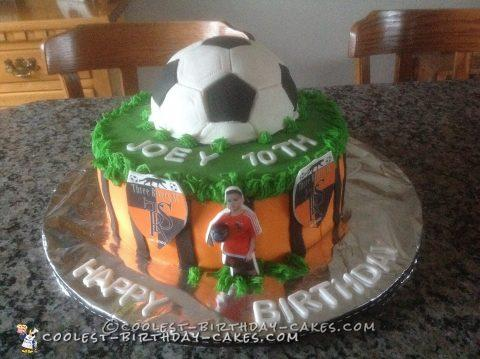 Crazy for Soccer Cake