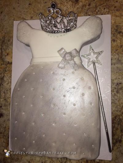 Beautiful Princess Dress Cake