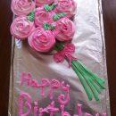 Beautiful Bouquet Cupcake Birthday Cake