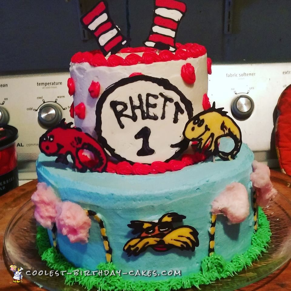Cool Cat in the Hat Cake