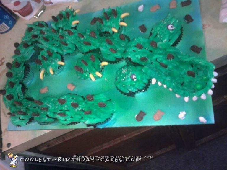Admirable Coolest Homemade Alligator Cakes Funny Birthday Cards Online Alyptdamsfinfo