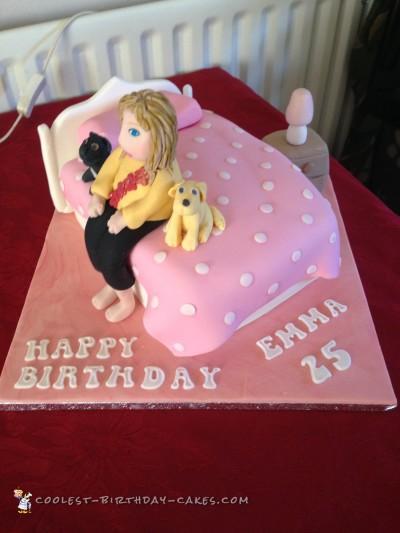 Pretty Bed Cake