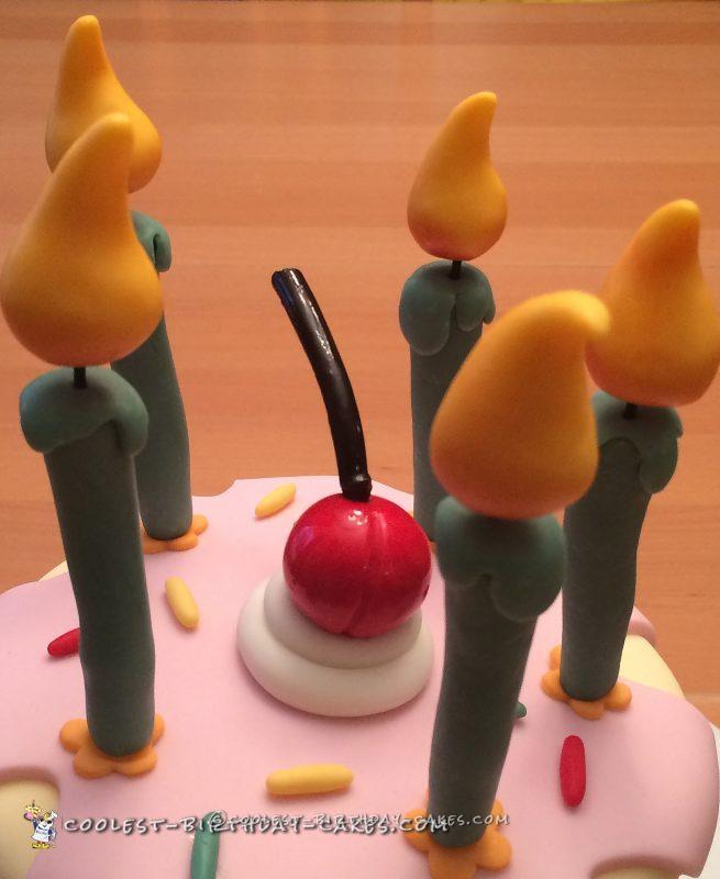 Awesome Ice Cream Sundae Cake