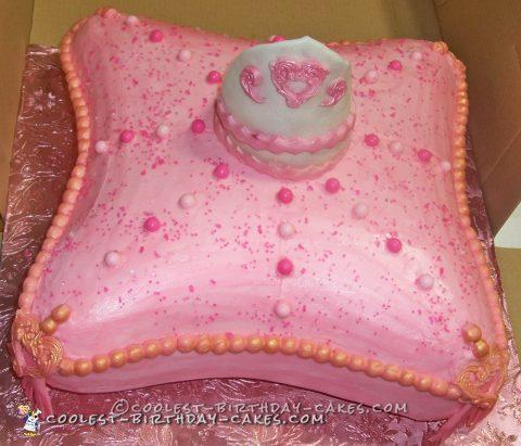 Sleepy Little Princess Cake - Coolest Princess Cakes