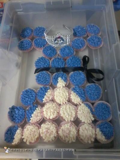 Beautiful Princess Cupcake Dress