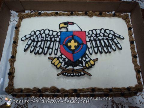 Cool Boy Scout NYLT Cake