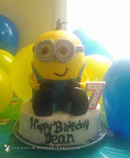 Amazing Coolest Homemade Despicable Me Cakes Funny Birthday Cards Online Inifofree Goldxyz