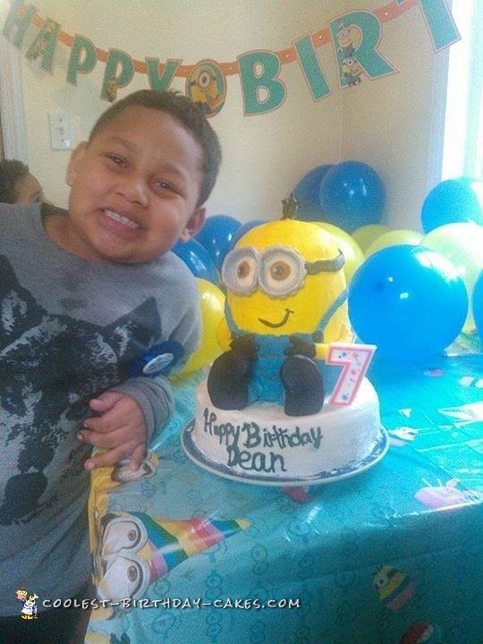 Coolest Minion Cake
