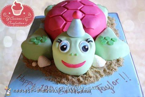 Coolest Turtle Cake