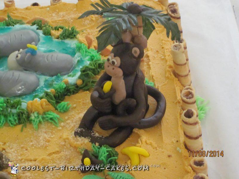 Coolest Safari Birthday Cake Ever