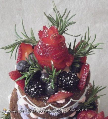 Cool Lingerie Cake