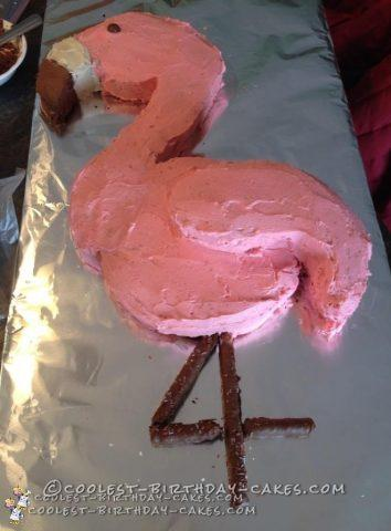 Cool Flamingo Cake