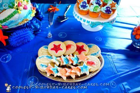 Coolest Underwater Nemo Cake!